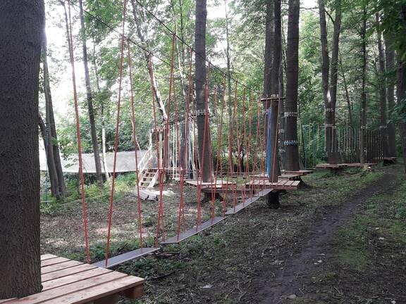 Nízký lanový park